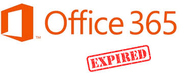 Office 365 expired