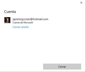 Cortana-Cerrar Sesión