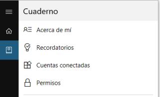 Cortana-Cuaderno